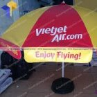 In lụa trên dù